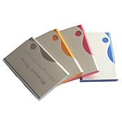 Personalisert farsdags gave godterifarget inngravert visittkortholder (assorterte farger)