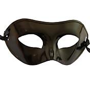 Karneval Maske Unisex Halloween Karneval Nytt År Festival / høytid Halloween-kostymer Svart Ensfarget