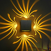 Moderno/Contemporáneo Lámparas de pared Para Metal Luz de pared 90-240V 3WW