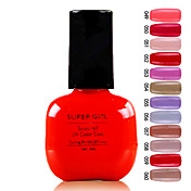 Super Girl Gorgeous empapa del color de UV Gel No.49-60 (1PCS 7ml, colores surtidos)