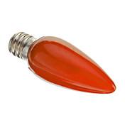 0.5W 50 lm E12 LED-lysestakepærer C35 leds Dekorativ Rød AC 220-240V
