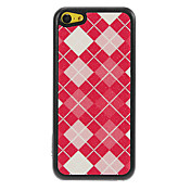 Patrón reticular Grids Shimmering Caja dura de la PC para el iPhone 5C
