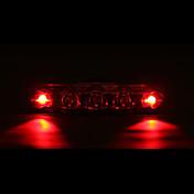 Baklys til sykkel / sikkerhet lys / Baklys LED Sykling Vanntett, LED Lys AAA Batteri Sykling - MOON