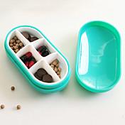 caso de la píldora individualizada y encantadora portátil (color al azar)