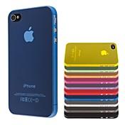 cubierta transparente fina de la PC delgada para el iphone 4 / 4s casos del iphone