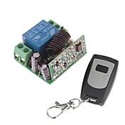 12V 1-Channel Wireless Remote Strøm Relay Module med Remote Controller (DC28V-AC250V)