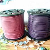 Cable & Wire / Cadenas Piel Morado / Rasa 1 pcs 100 cm Para