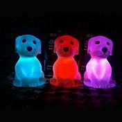 LED Night Light Vanntett Batteri PVC 1 Lampe Batterier Inkludert 6.0*6.0*8.5cm