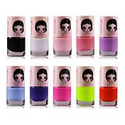 El color 1pcs dulces protección del medio ambiente de uñas no.1-17 (color surtidos) polish