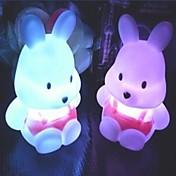 1pc LED Night Light Batteri Vanntett