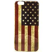 Para Funda iPhone 6 / Funda iPhone 6 Plus Diseños Funda Cubierta Trasera Funda Bandera Suave TPU iPhone 6s Plus/6 Plus / iPhone 6s/6