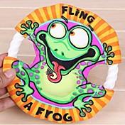 mascotas molares no tóxicos naturales animales pequeños juguetes Frisbee (entrega al azar)