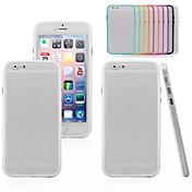 제품 아이폰6케이스 아이폰6플러스 케이스 케이스 커버 충격방지 뒷면 커버 케이스 한 색상 하드 PC 용 iPhone 6s Plus iPhone 6 Plus iPhone 6s 아이폰 6