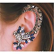 Mujer Puños del oído Joyería de Lujo Moda joyería de disfraz Brillante Legierung Forma de Animal Pájaro Joyas Para Boda Fiesta Diario