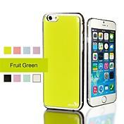 용 아이폰6케이스 아이폰6플러스 케이스 방수 도금 케이스 뒷면 커버 케이스 단색 하드 PC 용 iPhone 6s Plus/6 Plus iPhone 6s/6