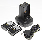 Batterier og Ladere Til Xbox 360 ,  Batterier og Ladere Plast enhet