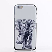 modelo animal TPU suave para el iphone 6