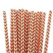 miljøvennlige vakre chevronpapirstråler 18 farger papirstryker for halloween fest (25 stk)
