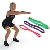 kylin deporte púrpura 100% ryg tubos ejercicio ejercicio físico bucle de banda de resistencia de látex natural de yoga pilates ™