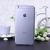 아이폰 6 플러스에 대한 단색 매우 얇은 TPU 소프트 케이스 (모듬 색상)