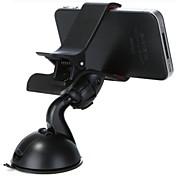bil universell mobiltelefon monteringsholder holder 360 ° rotasjon universell mobiltelefon plastholder