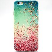 용 아이폰6케이스 / 아이폰6플러스 케이스 패턴 케이스 뒷면 커버 케이스 꽃장식 소프트 TPU iPhone 6s Plus/6 Plus / iPhone 6s/6