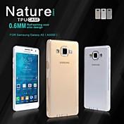 Para Funda Samsung Galaxy Ultrafina / Transparente Funda Cubierta Trasera Funda Un Color TPU Samsung A5