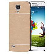 df lujo color sólido de alta calidad de aluminio pulido estuche rígido para Samsung i9500 s4 (color clasificado)