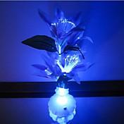 LED Night Light Vanntett Batteri Akryl 1 Lampe Ingen Batterier Inkludert 11.0*11.0*10.0cm