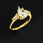 커플을위한 여성의 황금 합금 결혼 커플 반지 PROMIS 반지