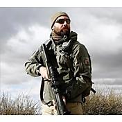 Chaqueta de caza Mantiene abrigado Impermeable Hombre Un Color Chaqueta Chaquetas Shoftshell Chaqueta de Invierno Sudadera Top para