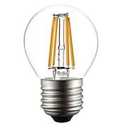 1pc 2800-3200 lm E26/E27 LED-glødepærer G45 4 leds COB Varm hvit AC 220-240V