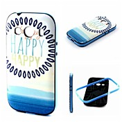 용 삼성 갤럭시 케이스 충격방지 / 패턴 케이스 뒷면 커버 케이스 단어 / 문구 TPU Samsung Ace Style LTE