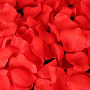 100 unids / bolsa pétalos de rosa flor artificial decoración del hogar boda suministro