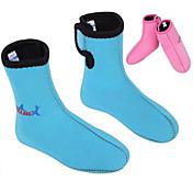 어린이를위한 divesail 3mm 네오프렌 아이 겨울 수영 스노클링 스쿠버 다이빙 양말 부츠 잠수복 온난화 미끄럼 방지 신발