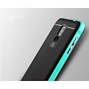 Teléfono Móvil Samsung - Cobertor Posterior - Puntos Redondos/Color Sólido/Acabado Metálico/Diseño Especial - para Samsung Galaxy Note 4 Metal/TPU)