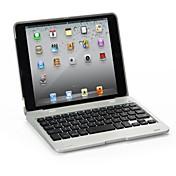teclado bluetooth inalámbrico portátil protector delgado soporte de la cubierta para el ipad Mini 1/2/3 (color clasificado)