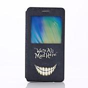 삼성 갤럭시 A5 - 전체 바디 케이스 - 특별 디자인 - 삼성 모바일폰 ( 멀티 컬러 , 플라스틱/PU 피혁 )