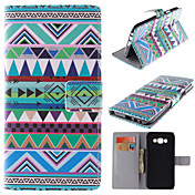 Para Funda Samsung Galaxy Soporte de Coche / con Soporte / Flip / Magnética / Diseños Funda Cuerpo Entero Funda Líneas / OlasCuero