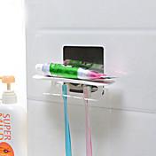 Tannbørsteholder / Børstet Rustfritt Stål /Moderne