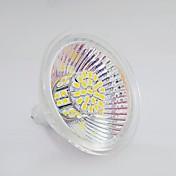 120-150 lm GU5.3(MR16) Focos LED MR16 50 leds SMD 3020 Blanco Cálido Blanco Natural DC 12V