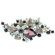 broche de la flor del partido pasadores brocha joyería de diamantes de imitación de las mujeres (más colores)