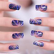 Pegatinas de uñas 3D Plantilla de estampado de uñas Diario Dibujos Moda Alta calidad