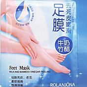 eksfolierende fot maske høyeffektive død hud skjel remover scholl sosu foten spa produkter 1pair