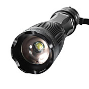 XML-T6 LED Lommelygter LED 2000/1600/1800lm 5 lys tilstand Zoombare / Justerbart Fokus / Nedslags Resistent Camping / Vandring / Grotte