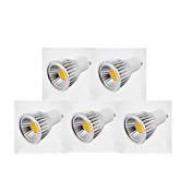 GU10 Focos LED MR16 1 leds COB 600lm Blanco Cálido Blanco Fresco Blanco Natural Regulable AC 100-240 AC 110-130