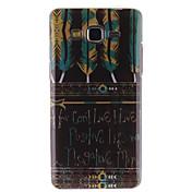 Para Funda Samsung Galaxy Diseños Funda Cubierta Trasera Funda Pluma TPU Samsung Grand Prime