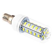 YWXLIGHT® 6W 500-600 lm E14 Bombillas LED de Mazorca T 36 leds SMD 5730 Blanco Fresco AC 220-240V