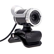 usb 2.0 12 m hd 카메라 웹 캠 360도 마이크 클립 -에 대 한 데스크탑 skype 컴퓨터 pc 노트북