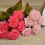 Kunstige blomster 1 Gren Bryllupsblomster Kystantemum Bordblomst